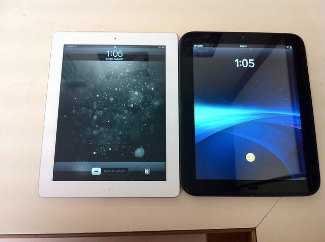 iPad 2 vs. HP TouchPad